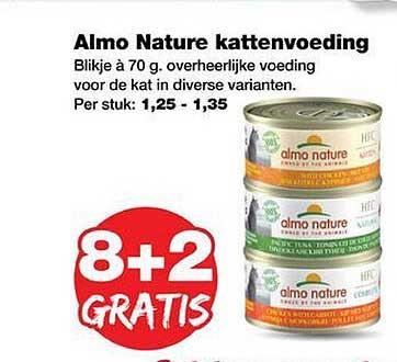 Jumper Almo Nature Kattenvoeding 8+2 Gratis