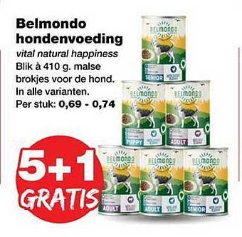 Jumper Belmondo Hondenvoeding 5+1 Gratis