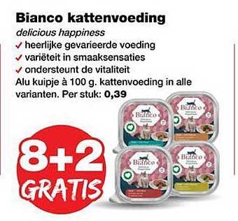 Jumper Bianco Kattenvoeding 8+2 Gratis