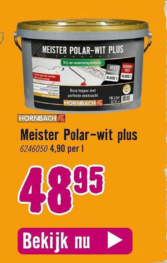 Hornbach Hornbach Meister Polar-Wit Plus