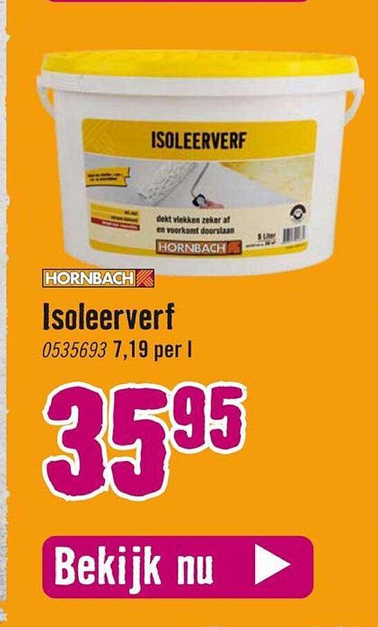Hornbach Hornbach Isoleerverf