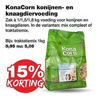 Jumper KonaCorn Konijnen- En Knaagdiervoeding 15% Korting