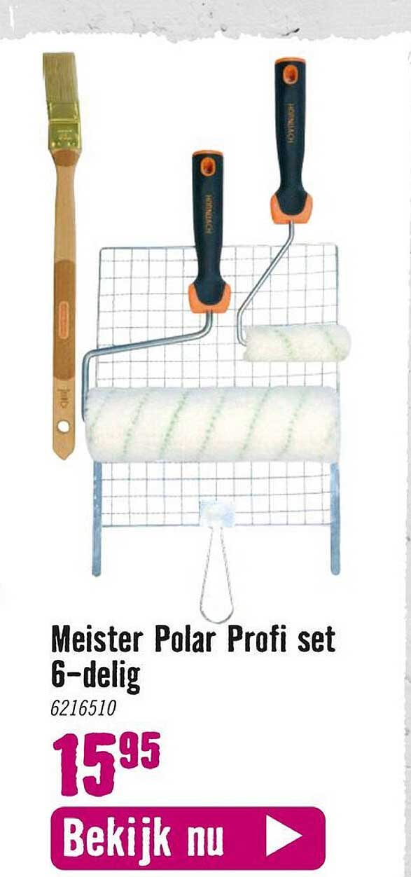 Hornbach Meister Polar Profi Set 6-Delig