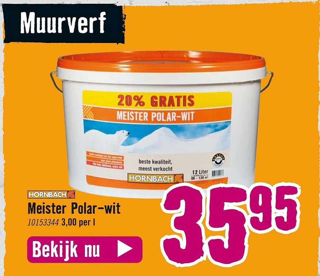 Hornbach Hornbach Meister Polar-Wit
