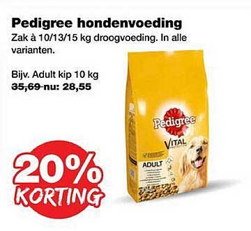 Jumper Pedigree Hondenvoeding 20% Korting