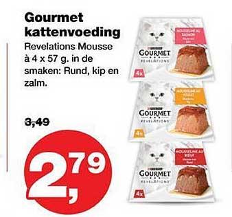 Jumper Purina Gourmet Kattenvoeding