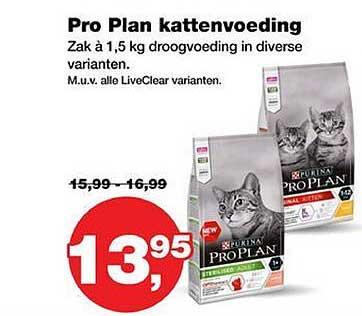 Jumper Purina Pro Plan Kattenvoeding