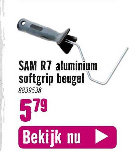 Hornbach Sam R7 Aluminium Softgrip Beugel
