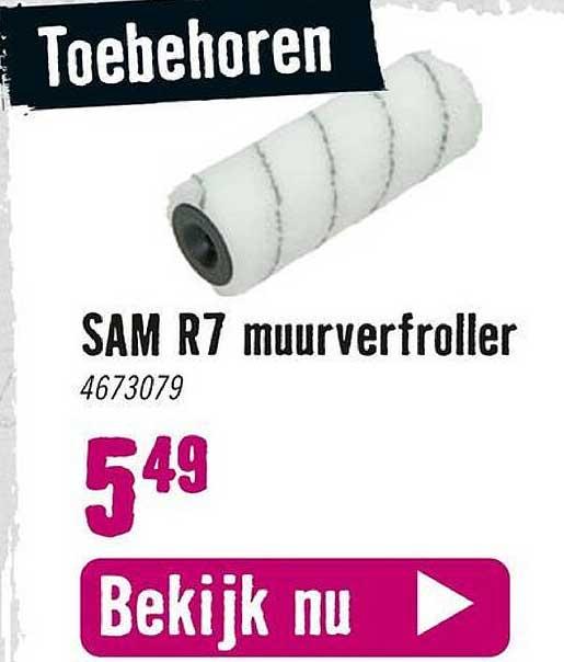 Hornbach Sam R7 Muurverfroller