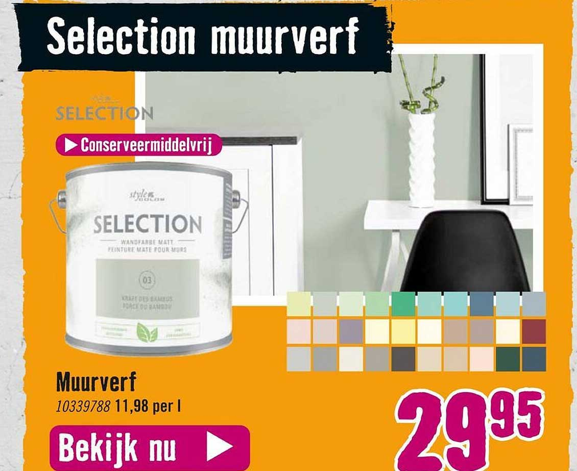 Hornbach Selection Muurverf