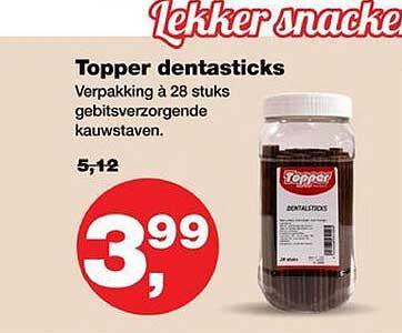 Jumper Topper Dentasticks