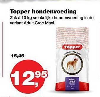 Jumper Topper Hondenvoeding