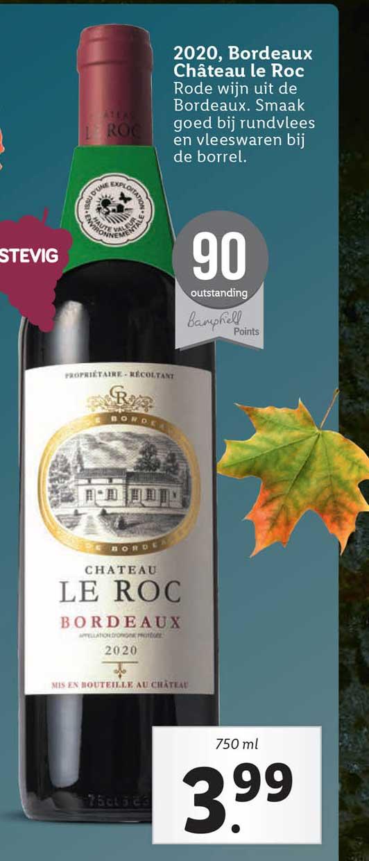 Lidl 2020 Bordeaux Château Le Roc