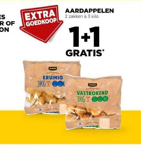 Jumbo Aardappelen 1+1 Gratis