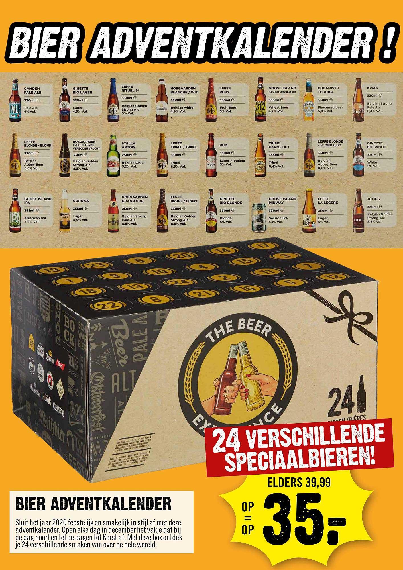 Dirck III Bier Adventkalender