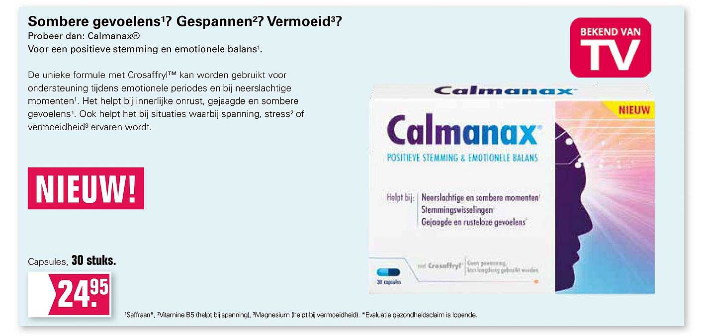 De Online Drogist Calmanax