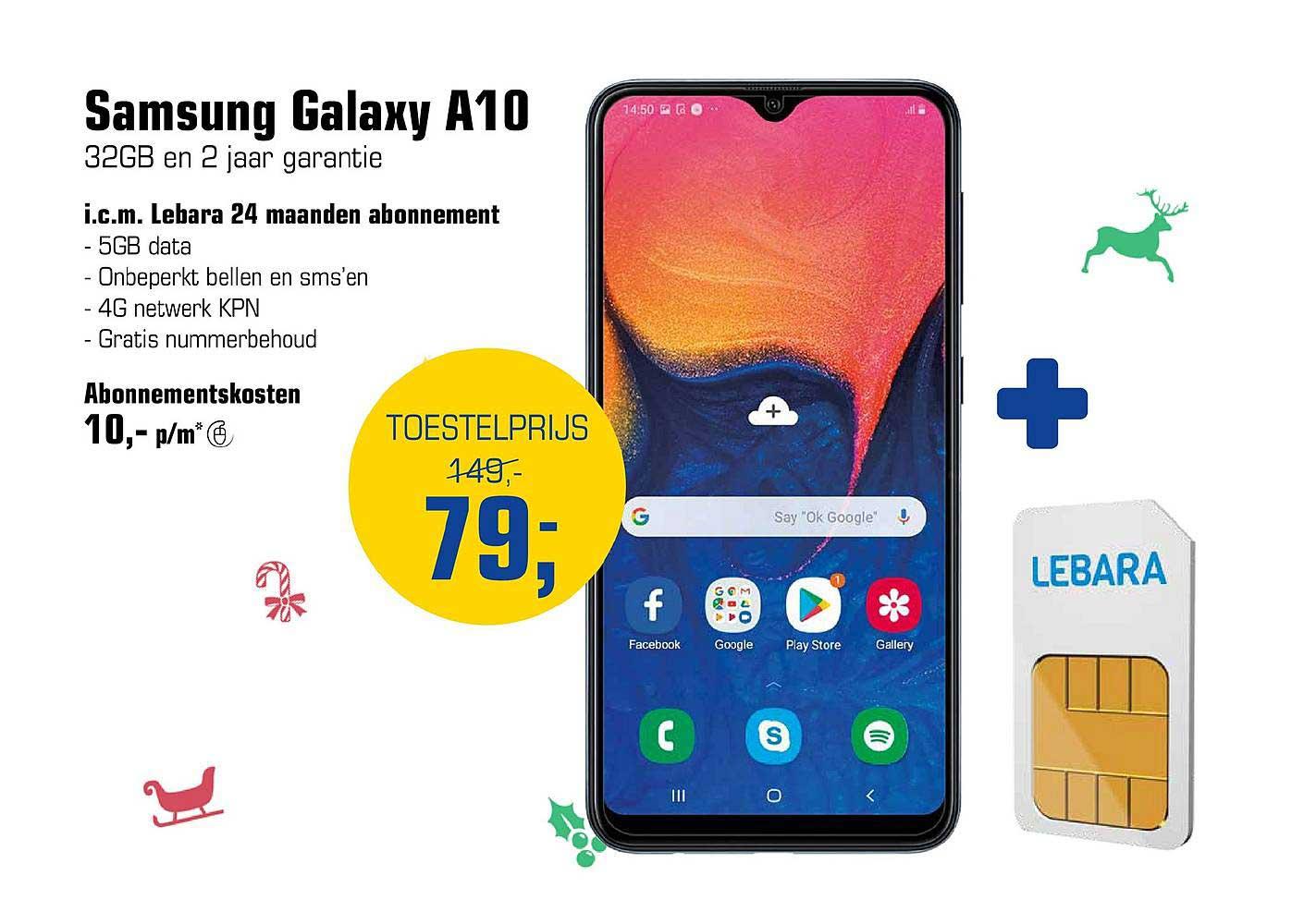 Primera Samsung Galaxy A10