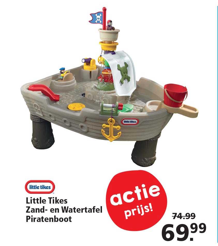 Intertoys Little Tikes Zand En Watertafel Piratenboot