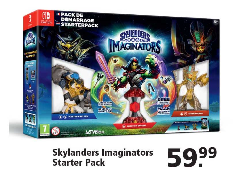 Intertoys Nintendo Switch Skylanders Imaginators Starter Pack