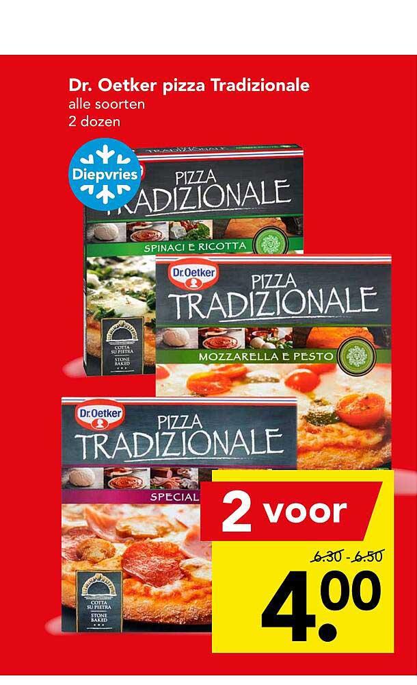 DEEN Dr. Oetker Pizza Tradizionale