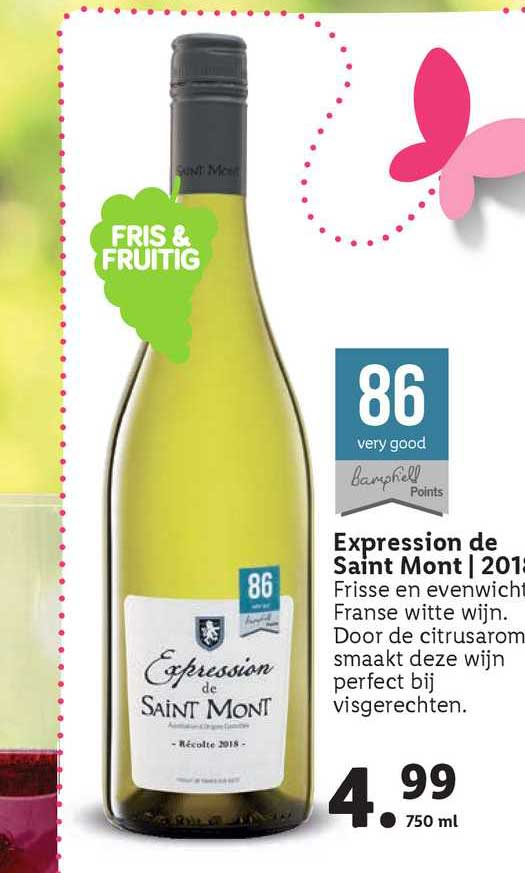 Lidl Expression De Saint Mont   2018