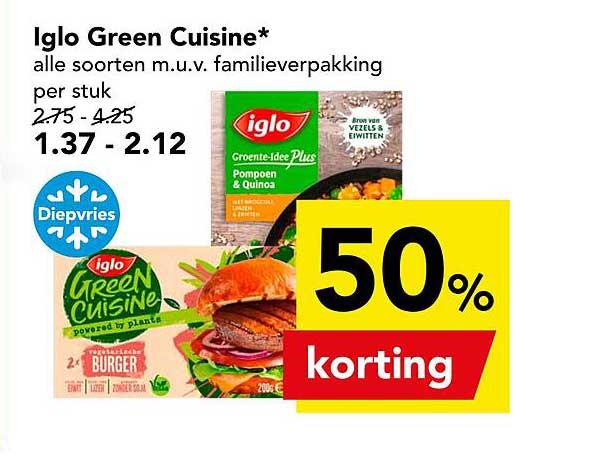 DEEN Iglo Green Cuisine