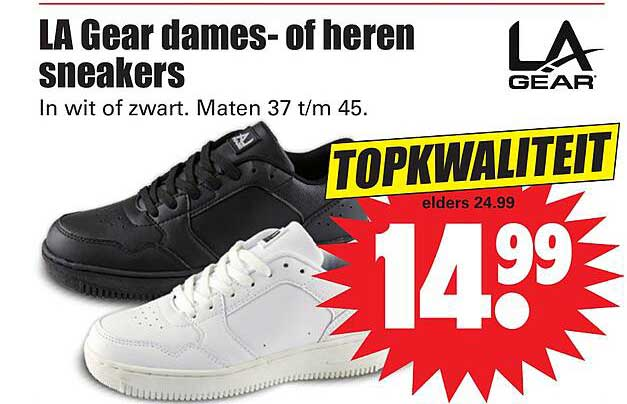 Dirk LA Gear Dames- Of Heren Sneakers