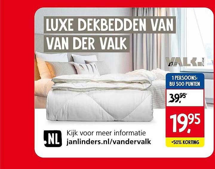 Jan Linders Luxe Dekbedden Van Der Valk
