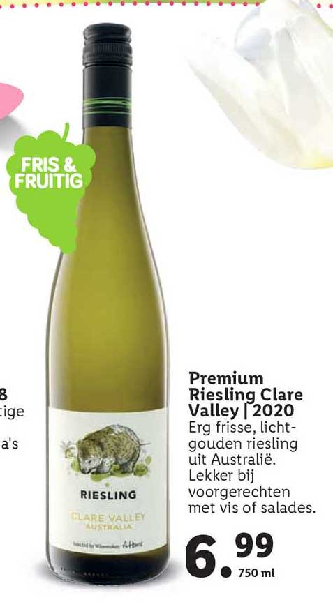 Lidl Premium Riesling Clare Valley | 2020