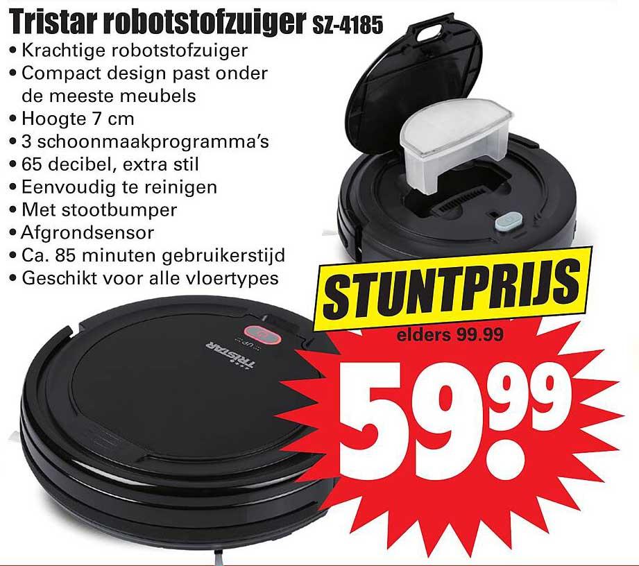Dirk Tristar Robotstofzuiger SZ-4185