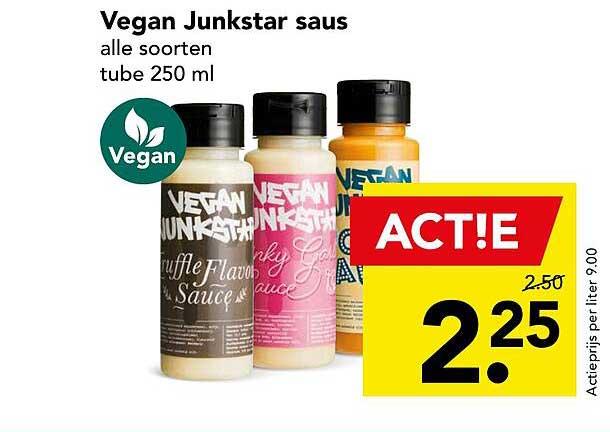 DEEN Vegan Junkstar Saus