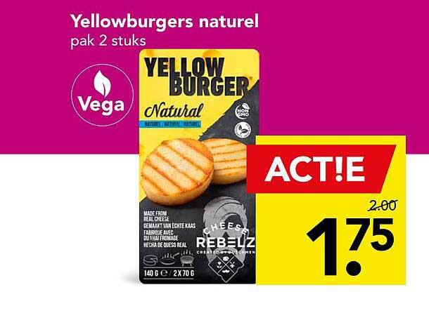 DEEN Yellowburgers Naturel