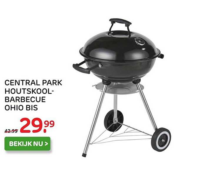 central park barbecue ohio ii ø 58 cm