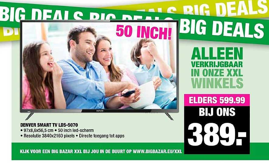 Big Bazar Denver Smart Tv LDS5070