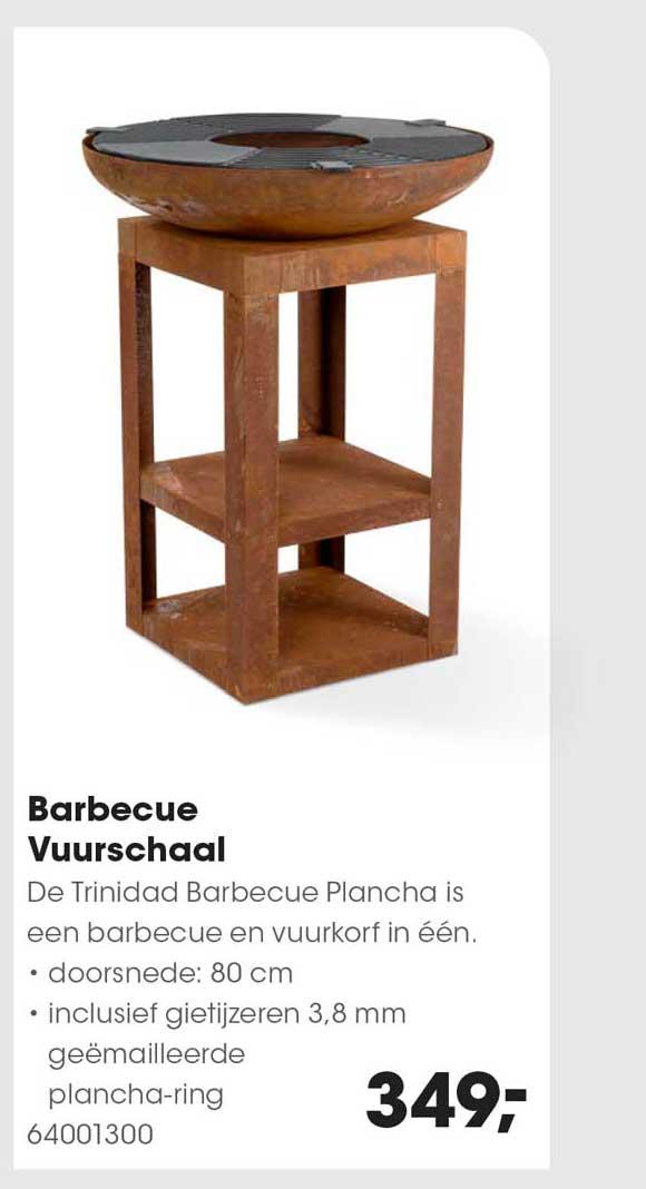 HANOS Barbecue Vuurschaal