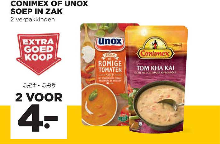 Jumbo Conimex Of Unox Soep In Zak