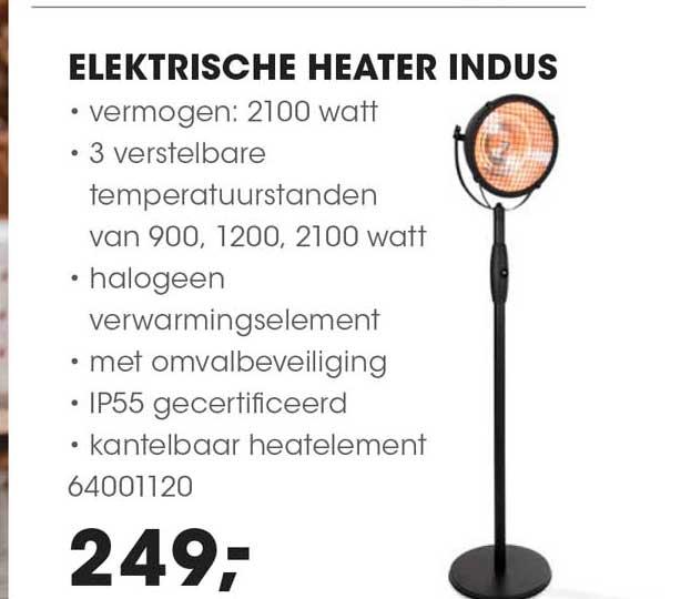 HANOS Elektrische Heater Indus