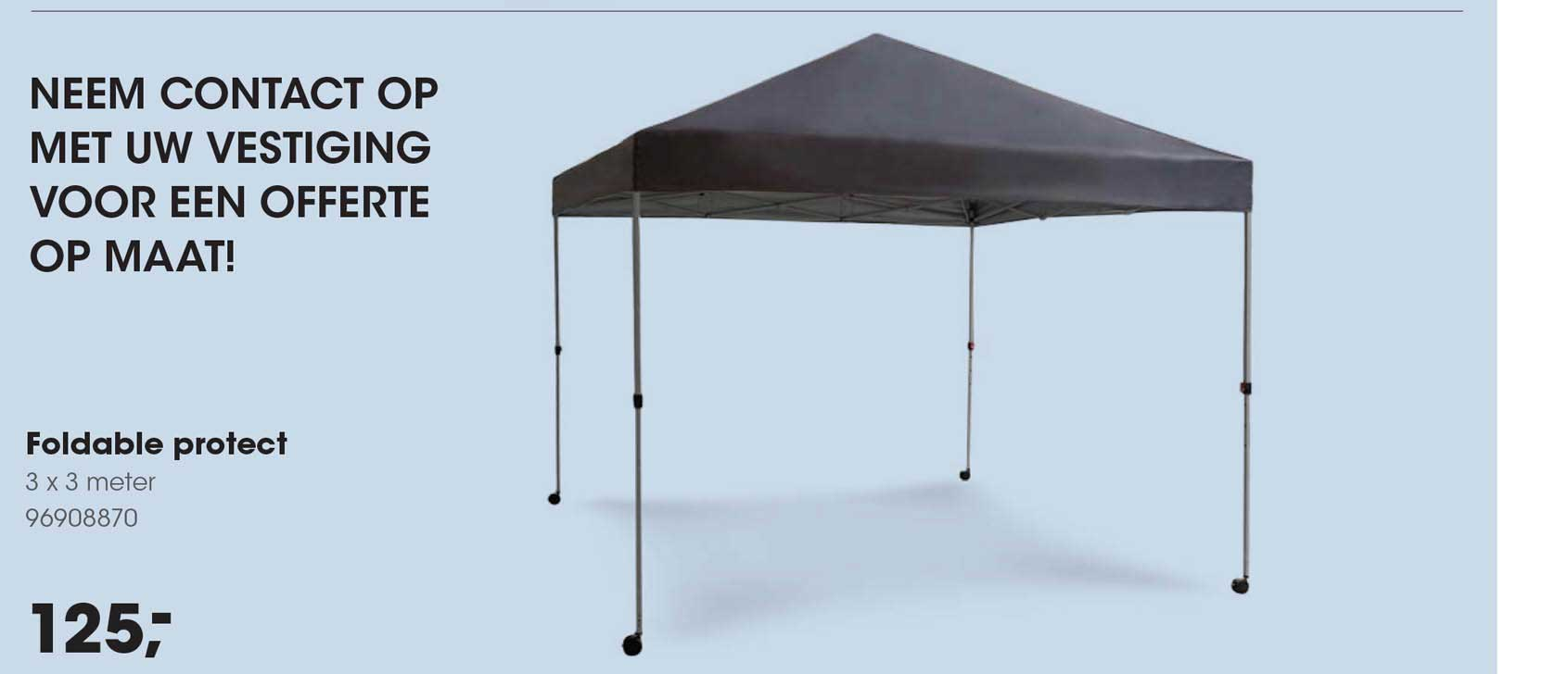 HANOS Foldable Protect 3 X 3 Meter