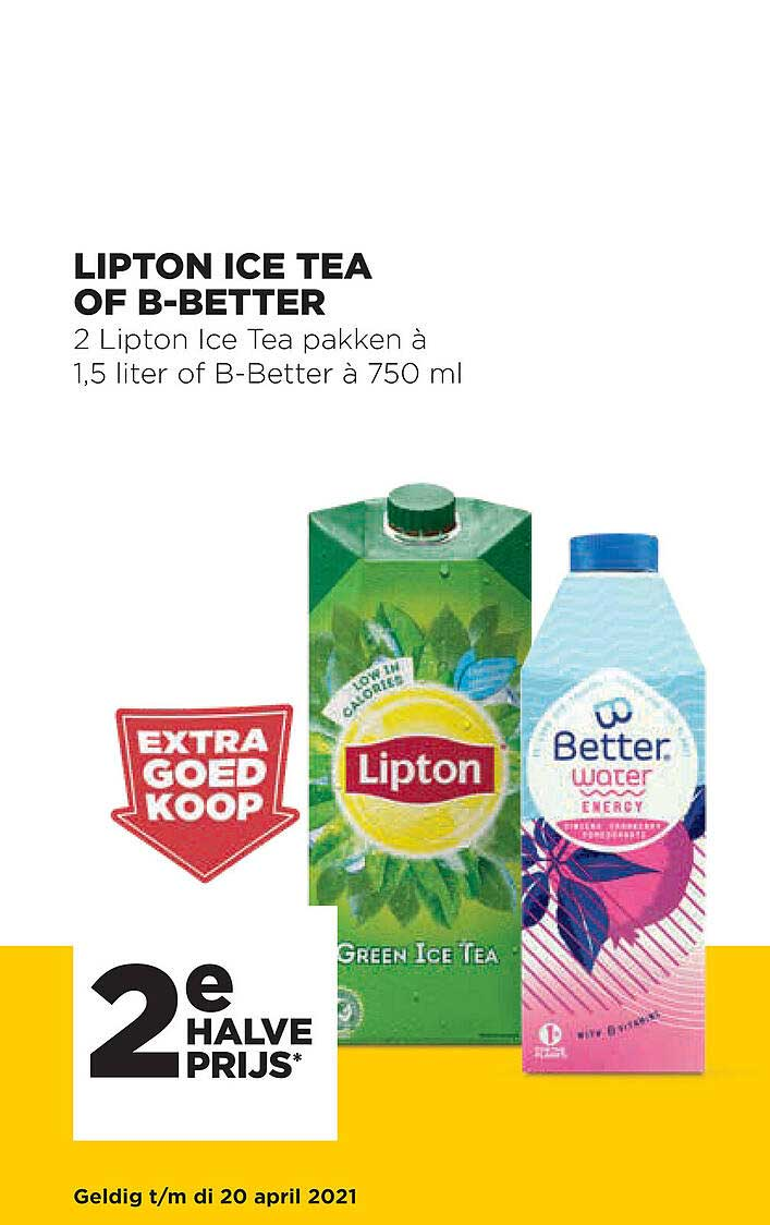 Jumbo Lipton Ice Tea Of B-better