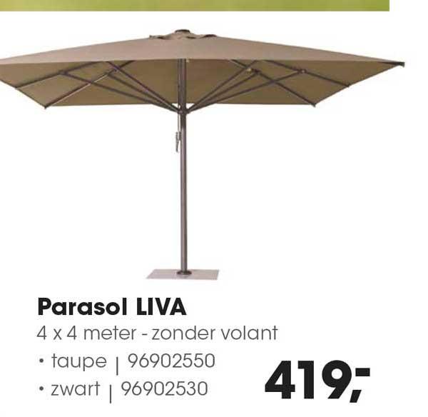 HANOS Parasol Liva 4 X 4 Meter