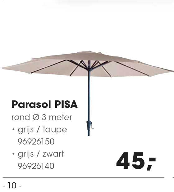 HANOS Parasol Pisa Ø 3 Meter