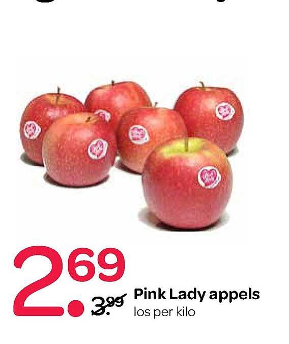 Spar Pink Lady Appels
