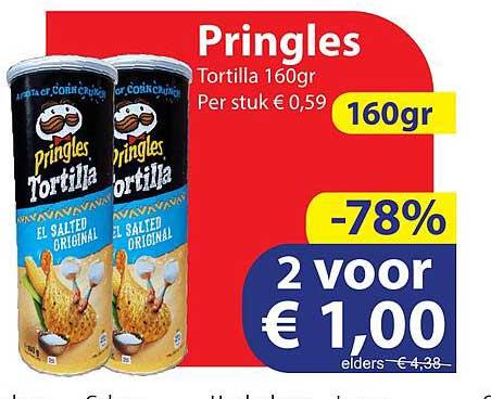 Die Grenze Pringles Tortilla 160gr