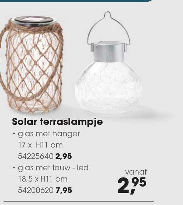HANOS Solar Terraslampje