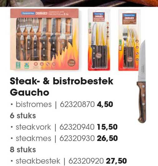 HANOS Steakbestek & Bistrobestek Gaucho