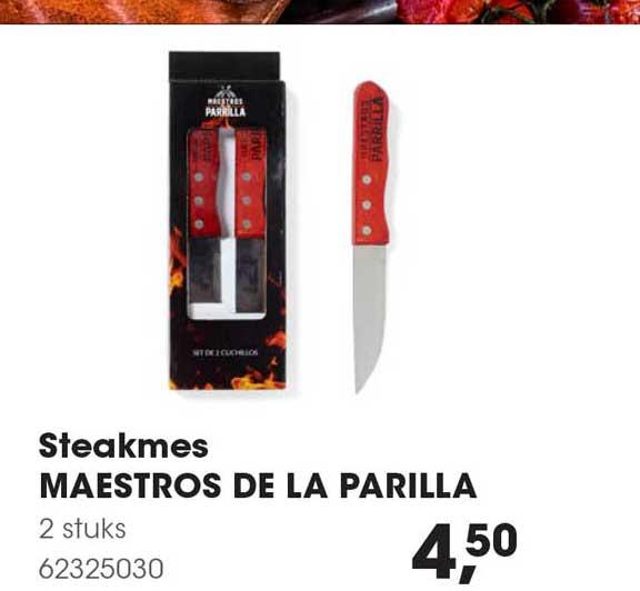 HANOS Steakmes Maestris De La Parilla