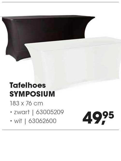 HANOS Tafelhoes Symposium 183 X 76 Cm