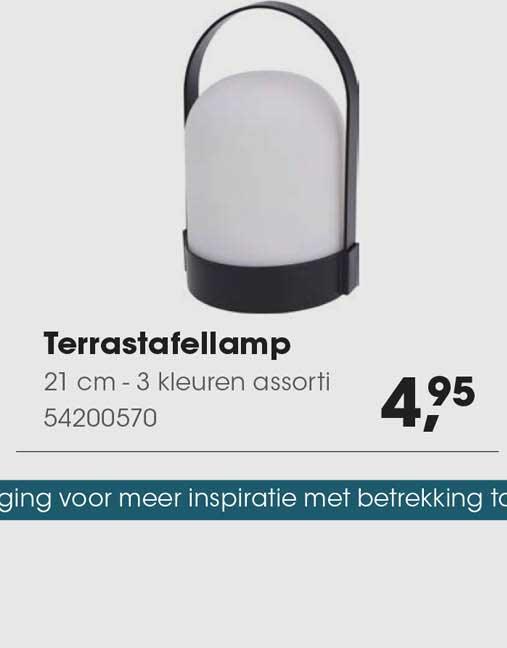 HANOS Terrastafellamp 21 Cm