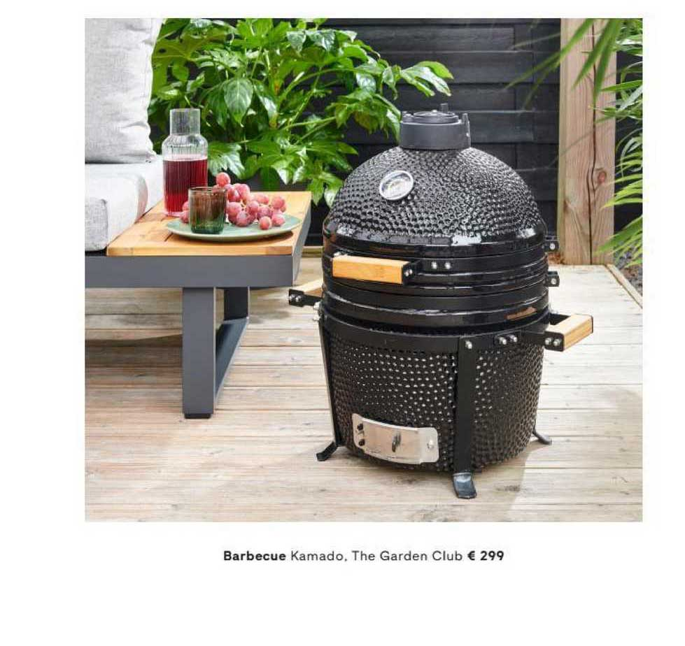FonQ Barbecue Kamado, The Garden Club