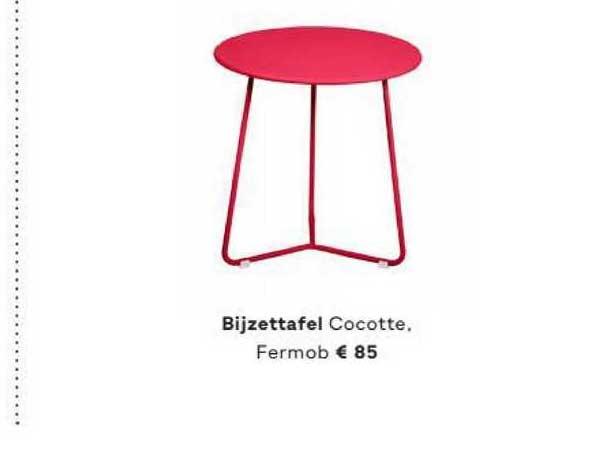 FonQ Bijzettafel Cocotte, Fermob